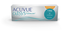 ACUVUE OASYS® 1-DAY avec technologie HydraLuxe™ pour L'ASTIGMATISME
