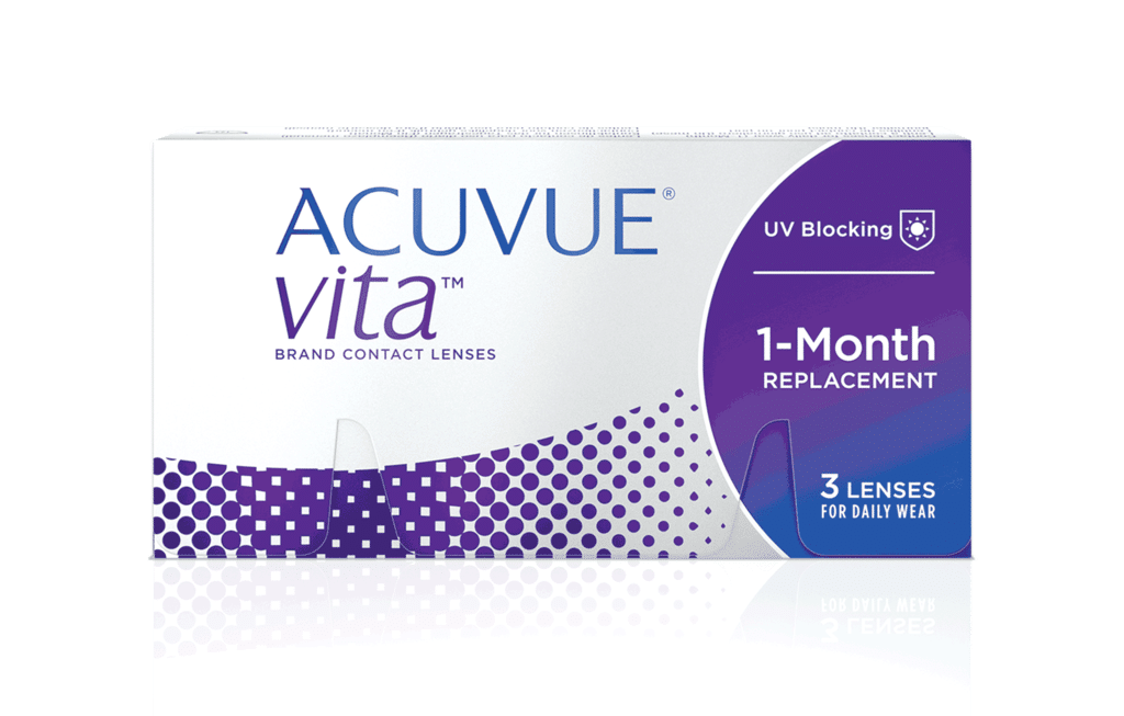 ACUVUE® VITATM avec technologie HydraMax™